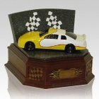 Yellow Race Car Cremation Urns