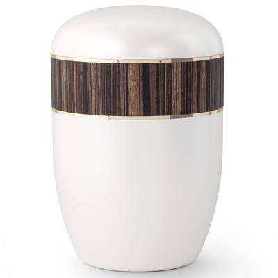 Zebra Wood Biodegradable Urn