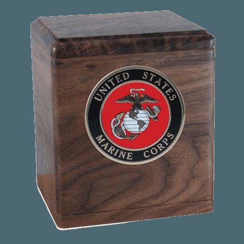 Freedom Walnut Military Urns