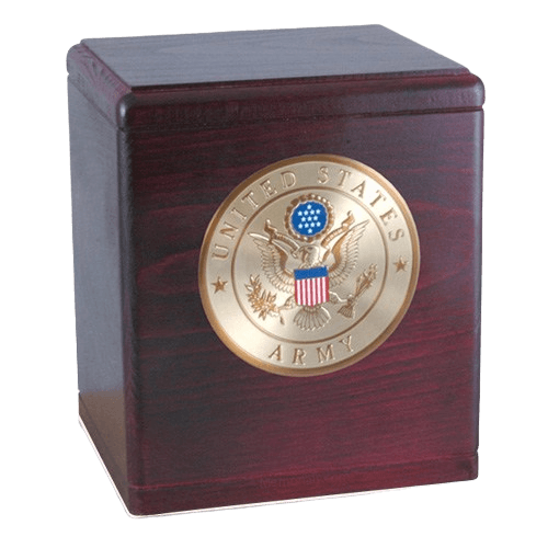 Freedom Rosewood Military Urns