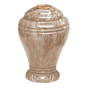 Tiger Eye Marble Cremation Urn IV