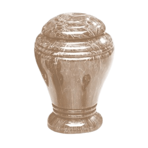 Tiger Eye Marble Cremation Urn III