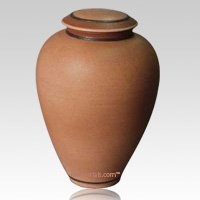 Monterey Brown Biodegradable Ceramic Urn