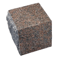 Natural Rose Granite Cremation Urn