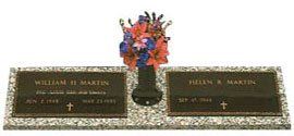 Veteran Bronze Headstones