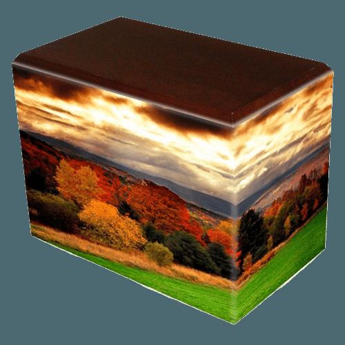 Autumn Walnut Child Cremation Urn III