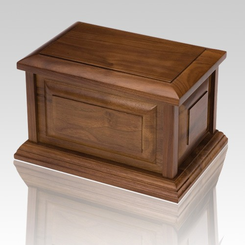 Discounter Wood Cremation Urn