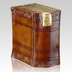The Reader Cremation Urn