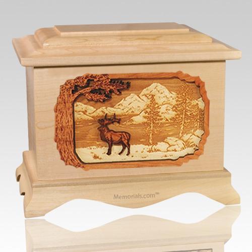 Elk Maple Cremation Urn