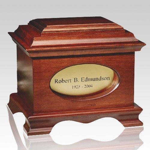 Distinction Wood Cremation Urn