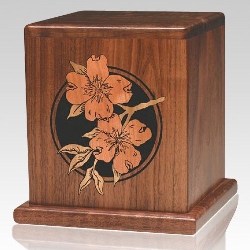 Dogwood Wood Cremation Urn