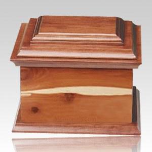 Glenwood Wood Cremation Urn II