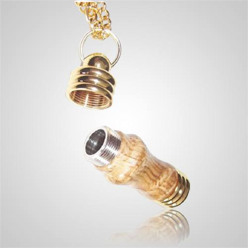 Wood Cremation Jewelry opened